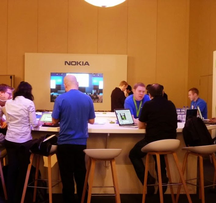 Nokia Mac Group stands