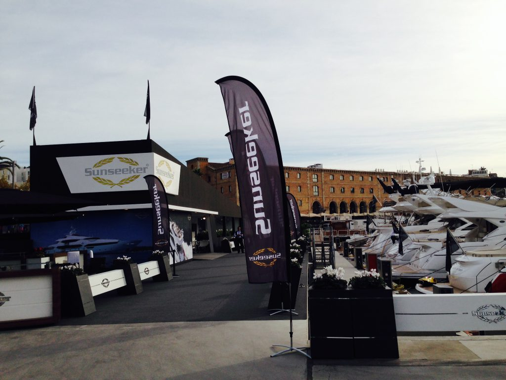 Mac Group stands and events at Salon Nautico sunseeker